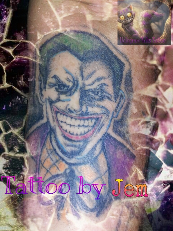 Tattoo gallery hologram inks tattoos for Tattoo classes online free